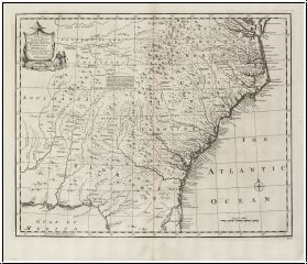 MCNALLY 1883 ANTIQUE RAILROAD MAP OF NORTH  SOUTH CAROLINA