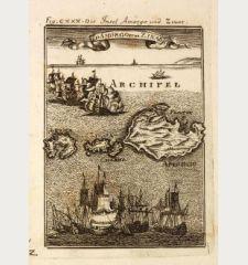 Die Insel Amorgo und Zinar / Id Amorgo et de Zinara