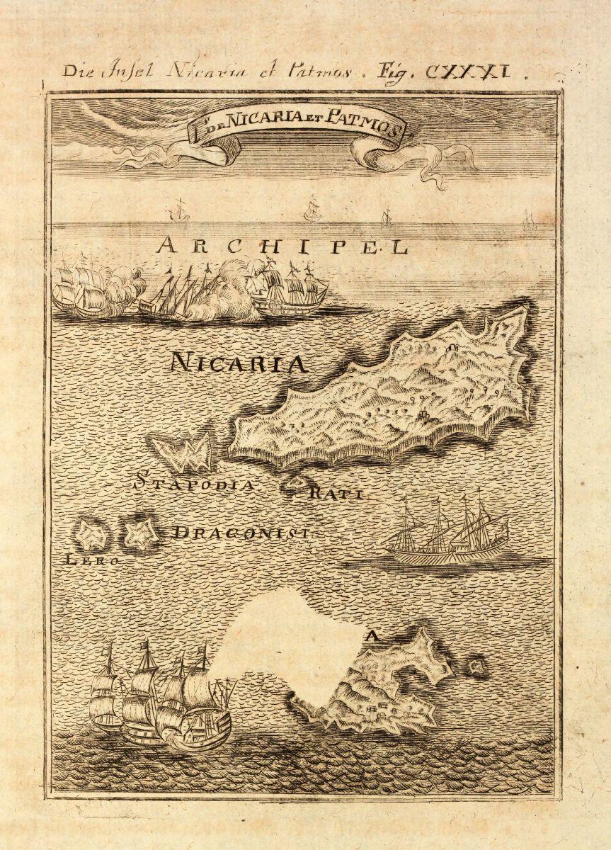 Die Insel Nicaria et Patmos Is de Nicaria et Mallet Greece