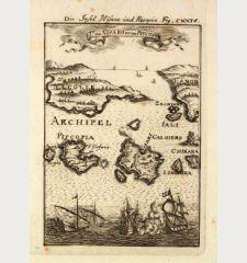 Die Insel Nisaro und Piscopia / Is. de Nisaro et de Piscopia