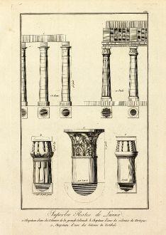 Bücher, Norden, Ägypten, Luxor, Pyramiden, 1795: Superbes Restes de Luxxor