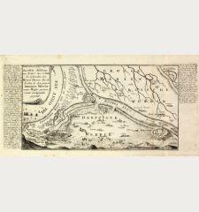 Eigentliche Abbildung wie Ao 1657. den 27. Febr. die Schweden den Weixel Damm durch-stochen u. den ganzen Dantziger Werder...