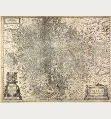 Hassia Landgraviatus / Illustrissimo Principi ac Domino D. Wilhelmo Dei gratia Lantgravio Hassiae ...