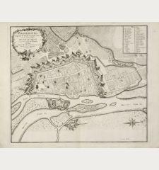 Magdebourg Capitale du Duché de même Nom une des Fortes Places du Roy de Prusse à 24 Lieues en deca de Berlin