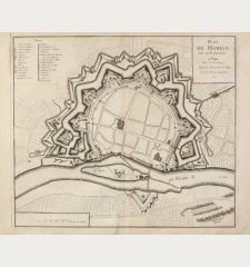 Plan de Hameln avec ses Fortifications.