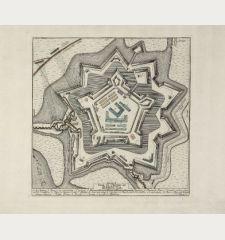 Plan du Chateau de Harburg. Rheinländische Ruthen.