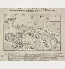 Plan de la Bataille, gagnée par Sa Majesté le Roi de Prusse, sur l'Armée Autrichienne, aux ordres de S.A.R de Duc Charles...