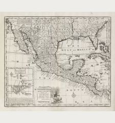 A New & Accurate Map of Mexico or New Spain together with California, New Mexico &c.