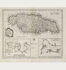 A New & Accurate Map of the Island of Jamaica. Divided into its Principal Parishes ...
