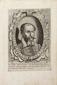 Graphics, Anonymous, Giovanni Antonio Magini, 1632: Io. Antonius Maginus Pat. Mathemat. In Bonon. Gymn. Profess.