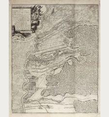 Plan de la Battalie Ganiee sur la Plesne de Hochstette entre les villages de Plintheym Oberklauw et Lutzingen ... le 13 Aout...