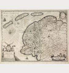Frisia Occidentalis Auctoribus Adriano Metio et Gerardo Freitag.