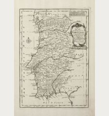 A New and Accurate Map of Portugal Composed from the Latest Improvemts. and Adjusted by the Most Authentic Astronl....