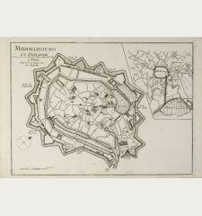 Middelbourg en Zeelande Levé par Ordre des Etat. Par Zehener Ingenr. de la Ville.