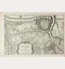 Plan d'Ostende & du Fort Philippe.