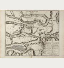 Environs D'Oudenarde avec le Plan de la bataille, donnee le 11. Juillet 1708.