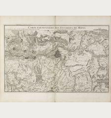Carte Particuliere des Environs de Mons