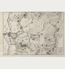 Berg-op-Zoom ses Attaques Et ses Environs Leve sur les Lieux en Janvier 1748