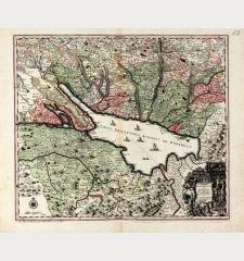 Lacus Bodamicus vel Acronius cum regionibus circumjacentibus recens delineatus a Matthaeo Seuttero, Sac. Caes. Maj. Geogr....