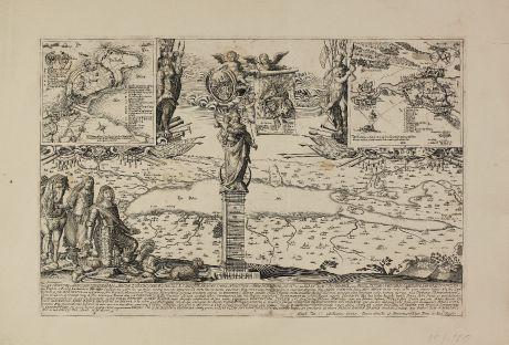 Antique Maps, von Altmannshausen, Germany, Baden-Wurttemberg, Bodensee: Illustrissime et Excellentissime Heros ac Domine. D. Maximiliane Wilibalde ...