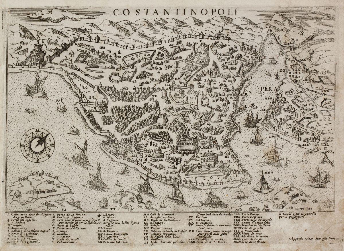Turkey - Camocio, Giovanni Francesco - Costantinopoli