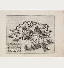 Tine insula, e citte antiqua posta nella Arcipelago...