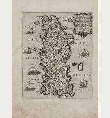Candia vel Creta insula posta nel mare Mediterraneo...