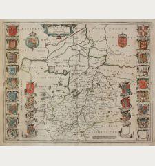 Cantabrigiensis Comitatus, Cambridge Shire.