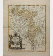 Charte von Russisch Litauen, welche die von Polen an Russland Abgetretene Woiewodschaften, Liefland, Witepsk, Mscislaw, und...