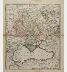 Tabula Geographica qua pars Russiae Magnae Pontus Euxinus seu Mare Nigrum et Tartaria Minor ...