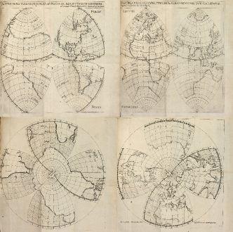 Antique Maps, Angelocrator, World Map, 1628: Doctrina de ponderibus, monetis et mensuris per totum terrarum orbem usitatis.