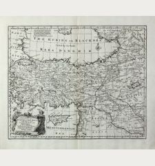 A New and Accurate Map of Anatolia or Asia Minor with Syria and such other Provinces of the Turkish Empire ...
