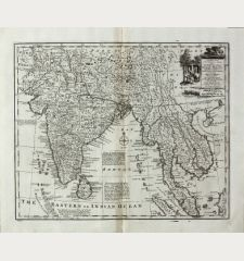 A New and Accurate Map of the Empire of the Great Mogul, ...