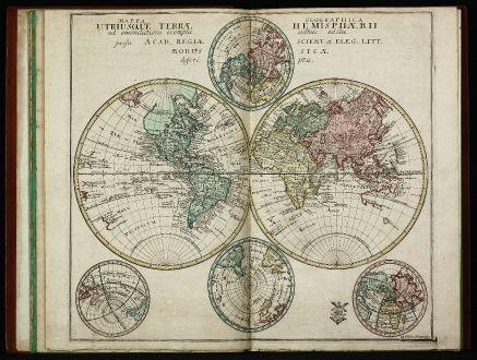 Atlases, Euler, Atlas, 1753: Atlas geographicus omnes orbis terrarum regiones in XLI tabulis ... / Atlas géographique représentant en XLI cartes toutes...