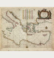 Paskaerte van't Oostelyckste der Middelandsche Zee
