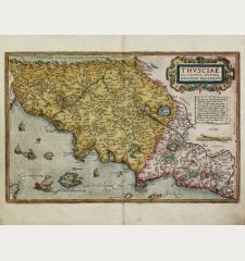 Thusciae Descriptio Auctore Hieronymo Bellarmato.