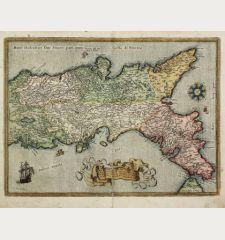 Regni Neapolitani Verissima Secundum Antiquorum et Recentiorum Traditionem Descriptio, Pyrrho Ligorio Auct.