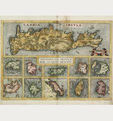 Candia Insula / Archipelagi Insularum Aliquot Descrip.