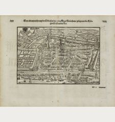 Ware abcontrafhetung der loblichen und alten statt Solothurn, gelegen in der Eydtgnoschafft an der Aar.