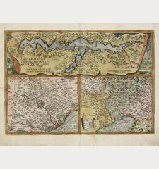 Larii Lacus vulgo Comensis Descriptio / Territorii Romani Descrip. / Fori Iulii vulgo Friuli Typus