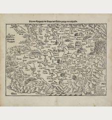 Behemer Künigreich, mit Bergen und Waelden, gerings umb beschlossen