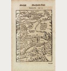 Sarmatia Asie / Das Asiatisch Sarmatia. Das Wasser Rha nennen die Reussen Volga / die Tartern Edel.