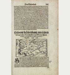 Hispanie beschreibung, mit seinen Koenigreichen, Landschafften und Stetten...