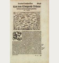 Von dem Koenigreich Boehem, und was mit der zeit darinn gefunden.