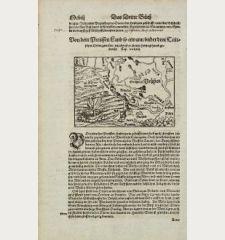 Von dem Preussen Land so etwann under dem Teutschen Orden gewesen, jetz aber ist es zu eim Hertzogthumb gemacht.