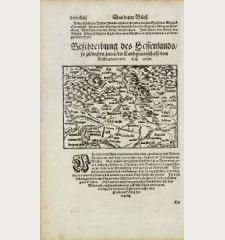 Beschreibung des Hessenlands, so zu unsern Zeiten die Landgraveschafft von Hessen genant wirt.