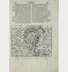 La Valone, iadis Apollonie, cite d'Albanie, a presant occuppee par le Turc.