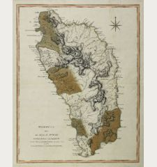 Dominica from An Actual Survey, Completed in the Year 1773 ... 1794