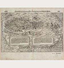 Contrafehtung der fürnemmen Statt Venedig, sampt den umbligenden Inseln.