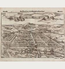 Der Statt Themistitan in den Neuwen Inseln gelegen / Die Statt Cusco so die fuernembste im Land Peru / Il Cuscho Citta...